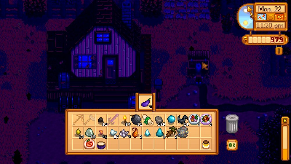 Man I still wanted to clear like fifty more mine floors. Stupid time.