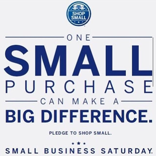 We encourage everyone to Shop Small this holiday season.  Support your favorite small businesses today on #smallbusinesssaturday #tiestothesouth
