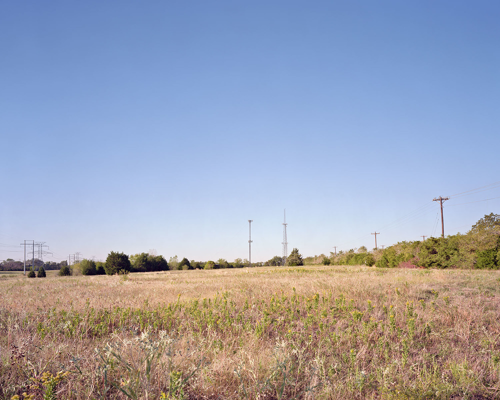 Cell Tower, Field, 2 Towers, Tele poles.jpg