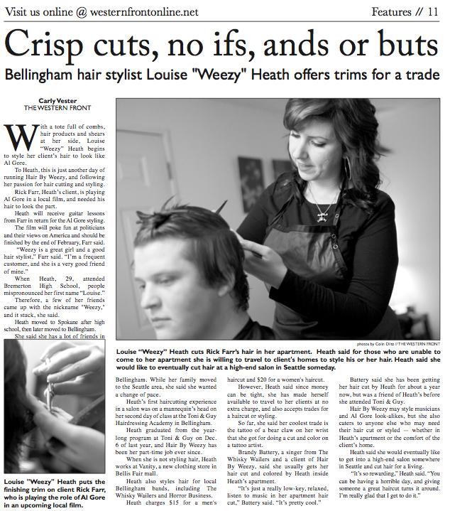 Crisp cuts, no ifs, ands or buts
