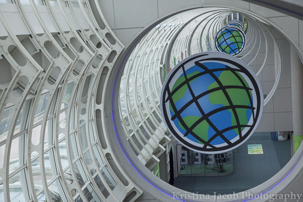 The ESRI logo fills the San Diego Convention Center