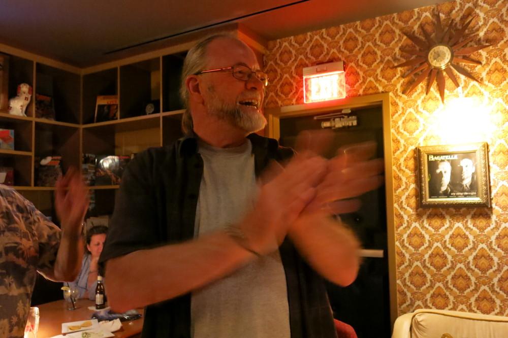 Bert Monroy celebrated his birthday with us! Happy birthday Bert!