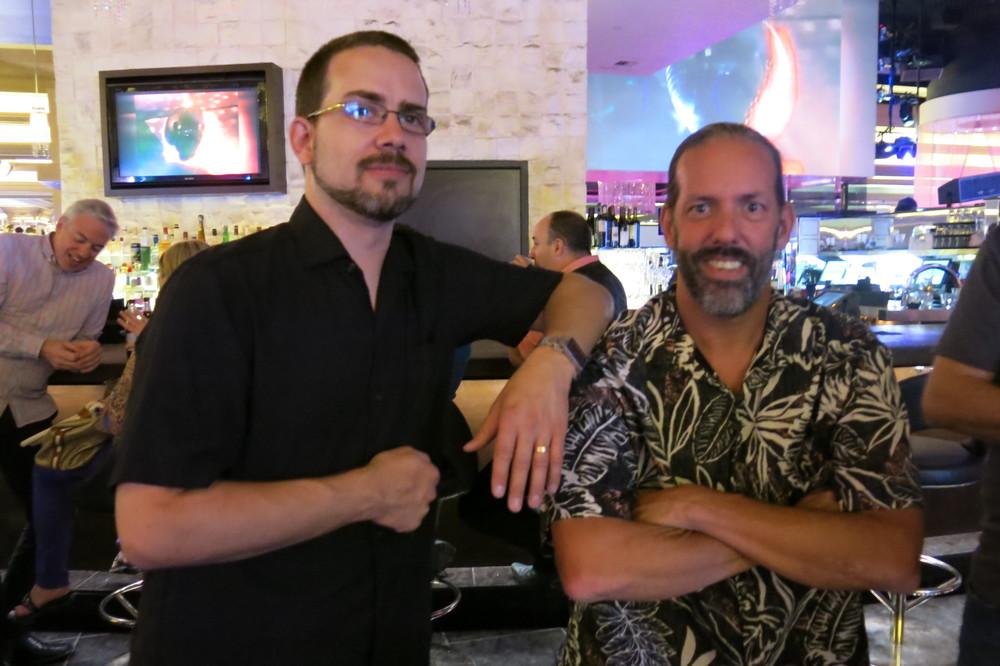 Patrick LaMontagne and Alan Hess.