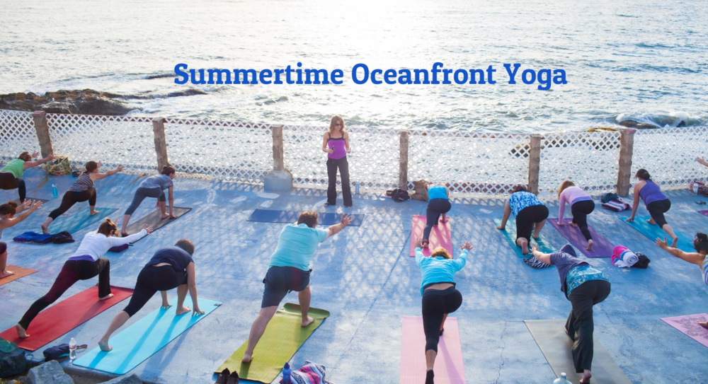 Summertime Oceanfront Yoga