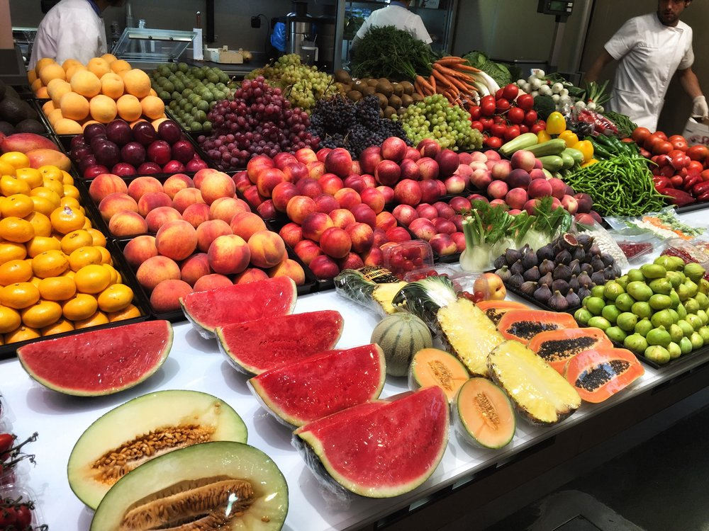 Market Fruit. If you think this stuff is boring then you simply don't know how to prepare it! but you can learn!