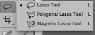 fig 6. Lasso-verktyget