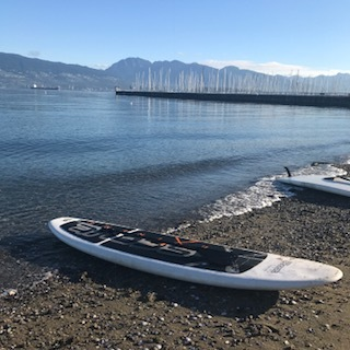 Paddlebaording in Vancouver major hIghlight
