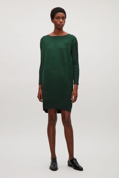 Ribbed Merino Wool Dress €89