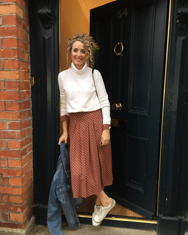 Great to be back in Dublin! I've been working with so many new moms who are going back to work. I guess having a new wardrobe is one way to ease the pain! 😜