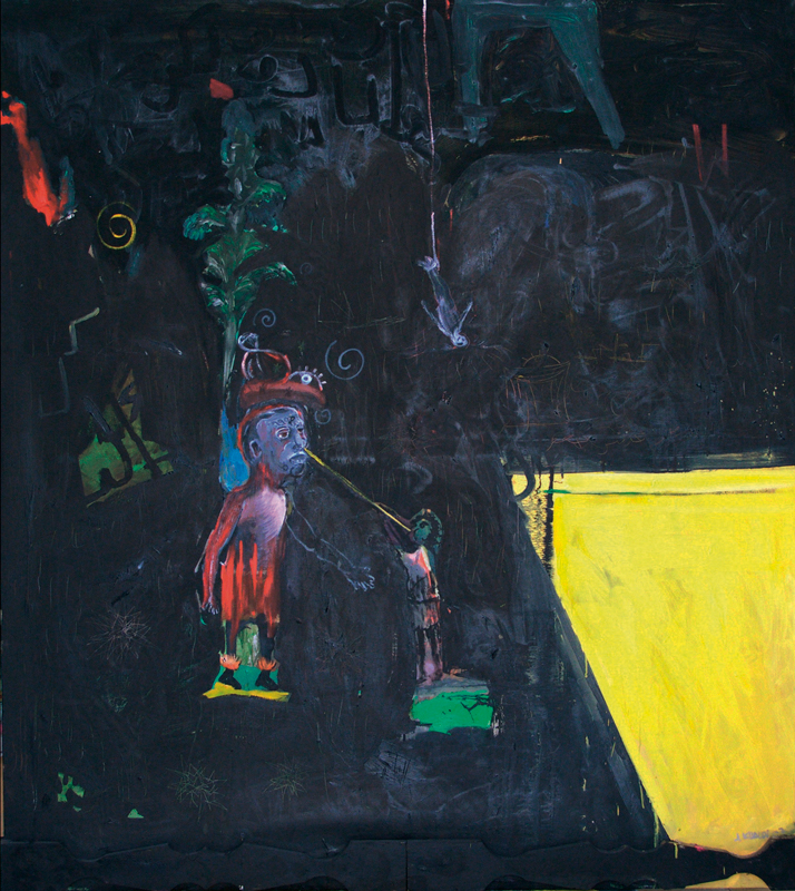 Blow  (2007)  Oil on canvas  190 * 170 cm