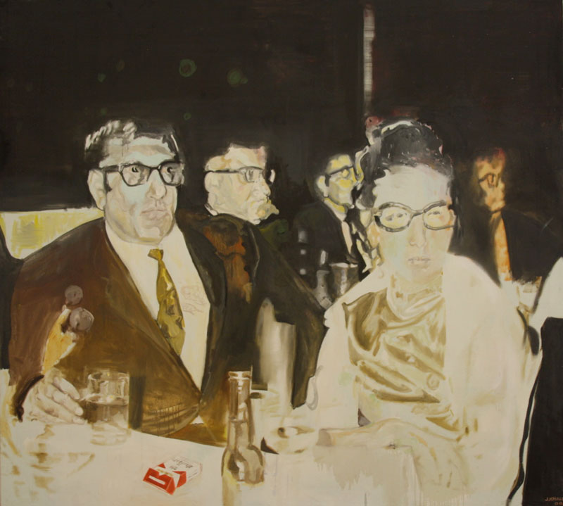 Casino du Liban  (2010)  Oil on canvas  200 * 220 cm