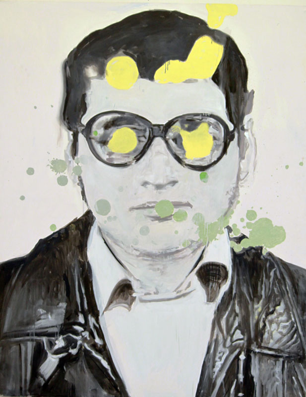 Carlos  (2010)  Oil on canvas  230 * 180 cm
