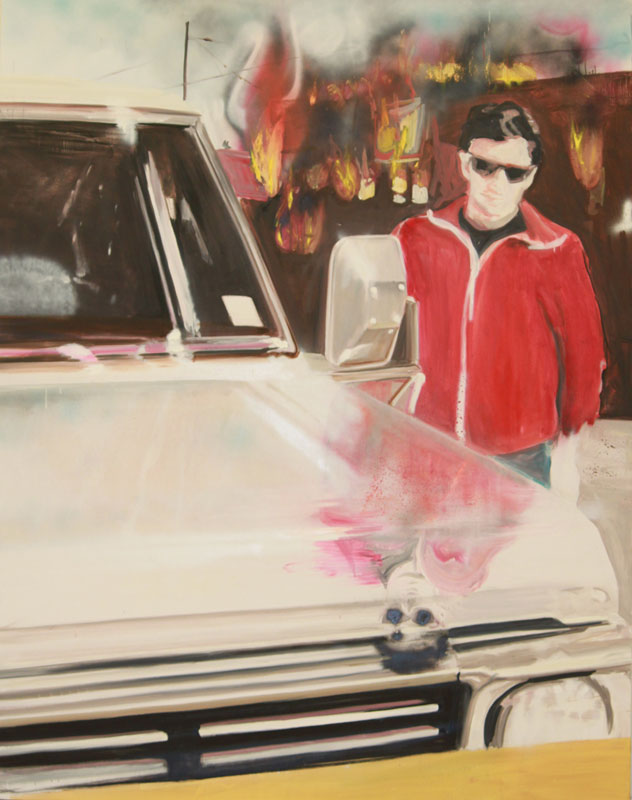 Slicks  (2010)  Oil on canvas  180 * 230 cm