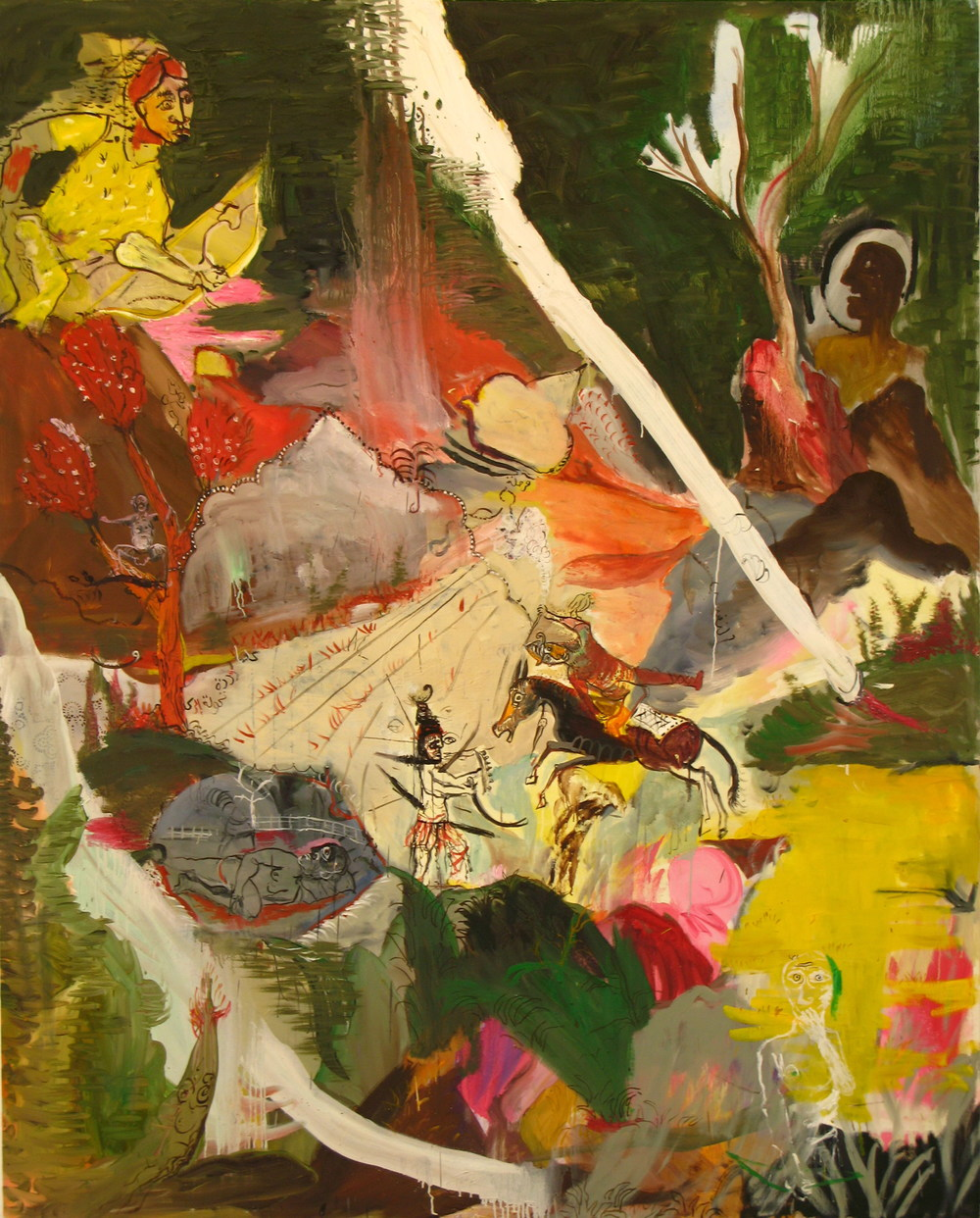 June (New Phase)  (2007)  Oil on canvas  185 * 230 cm