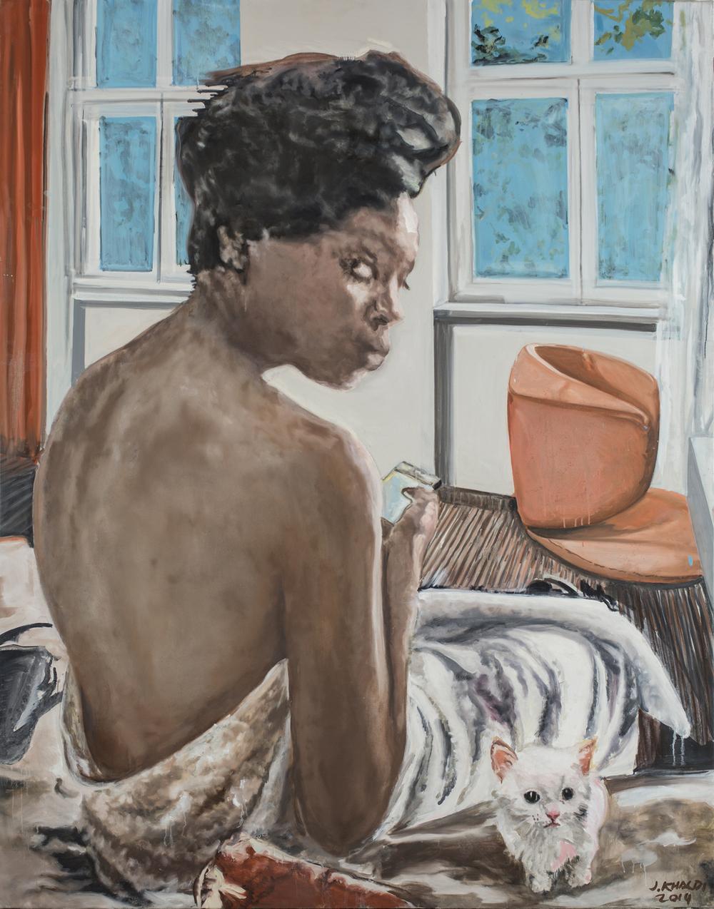 Nicole (2013-14), Oil on canvas, 230 * 180 cm.jpg