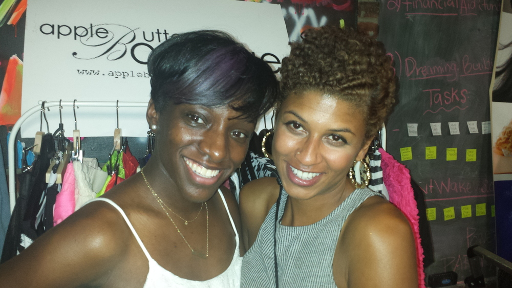 Owner Sharon and Shanti of Around The Way Curls.