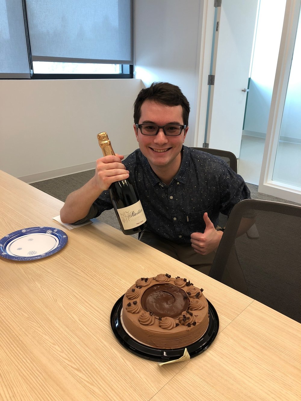 Jason successfully completes his Ph.D. qualifying exam. Congrats to Jason! - 5 Dec 18