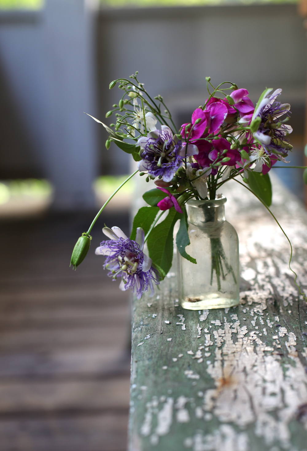 passion flower arrangment by Maggie Pate