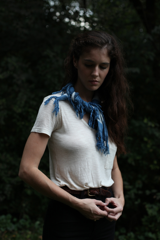 inks+thread indigo bandana