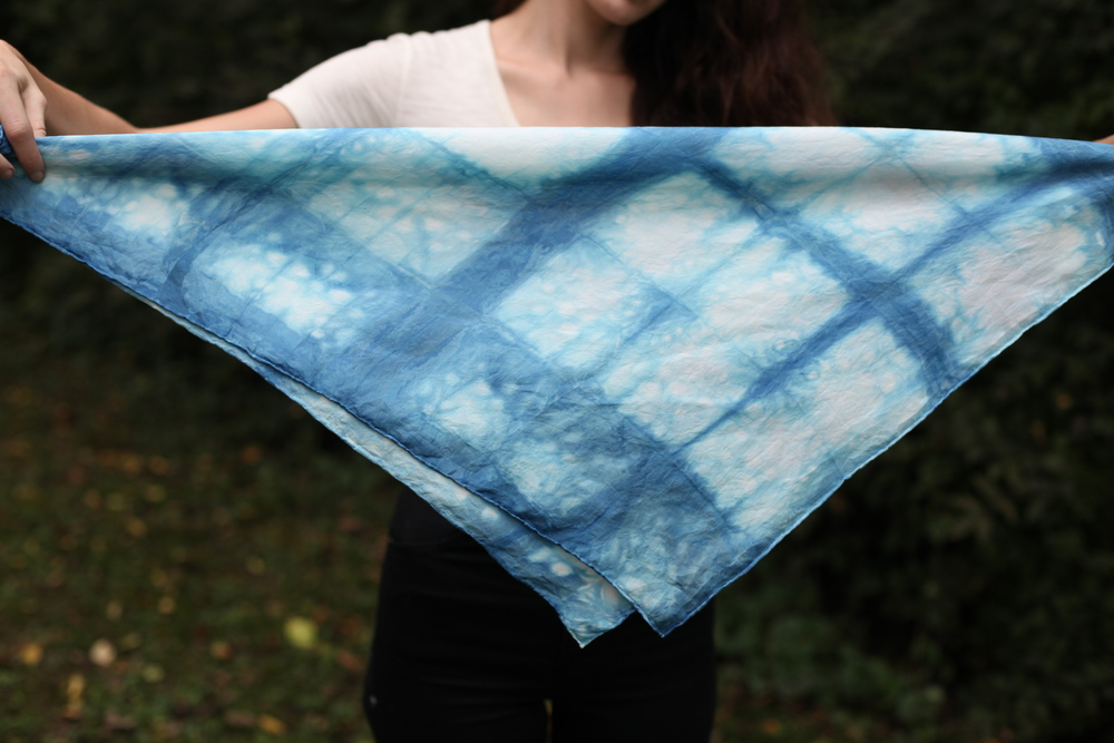 Bubbles Scarf by inks+thread