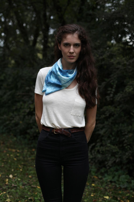 inks+thread indigo scarf