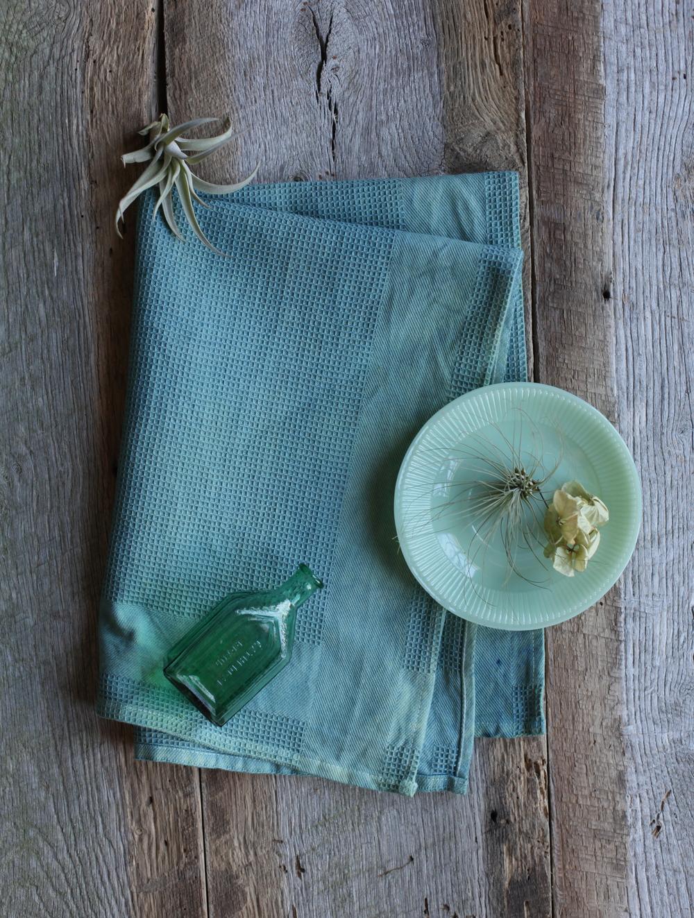 Dewy Grass Tea Towel