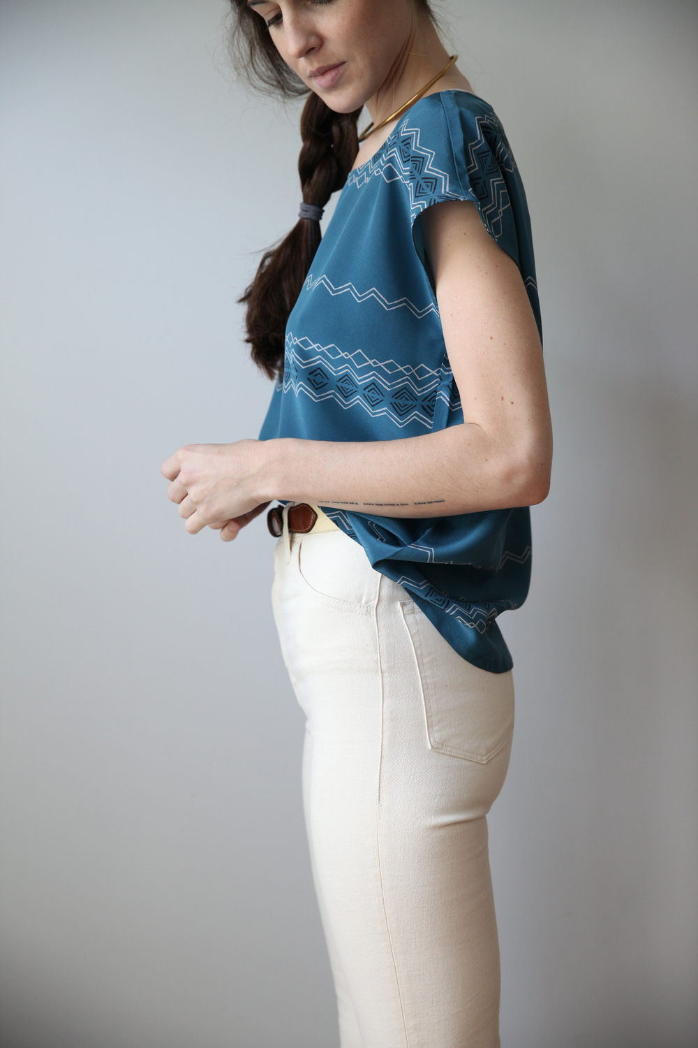 Evening Blue Marlowe Top