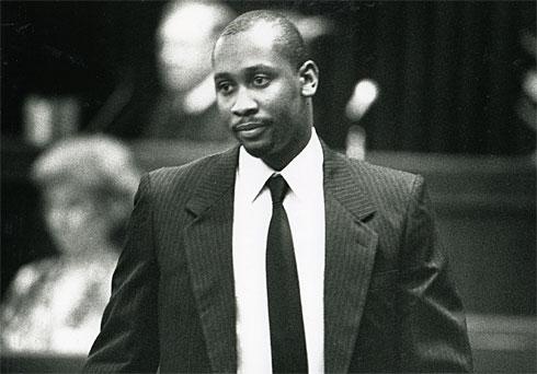 Troy Davis appears in court