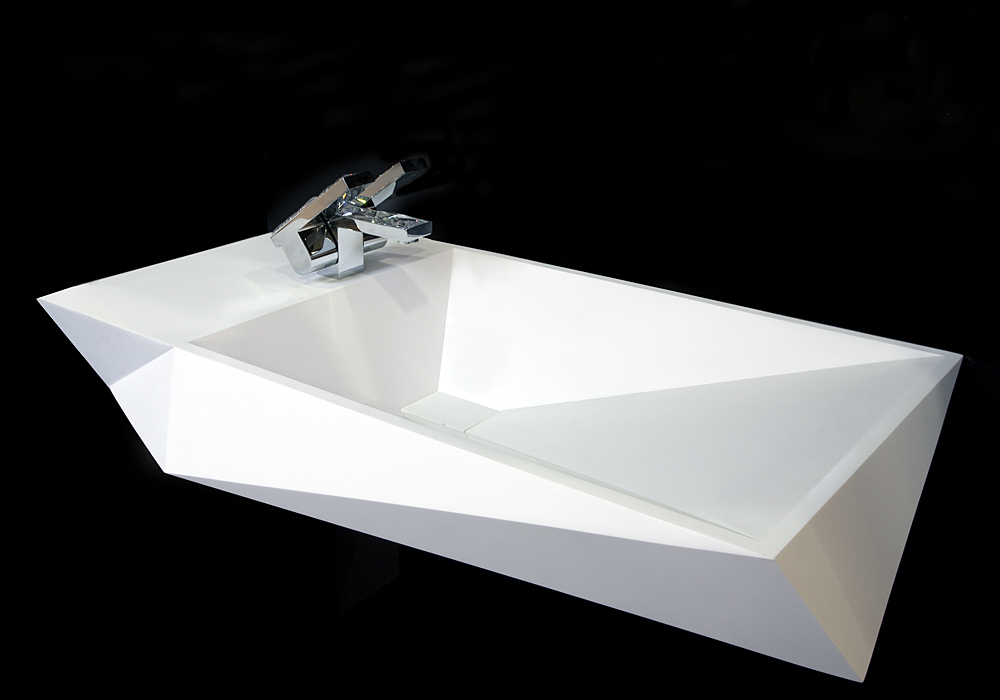 Crystalline Sink by Hariri&Hariri for AFNY