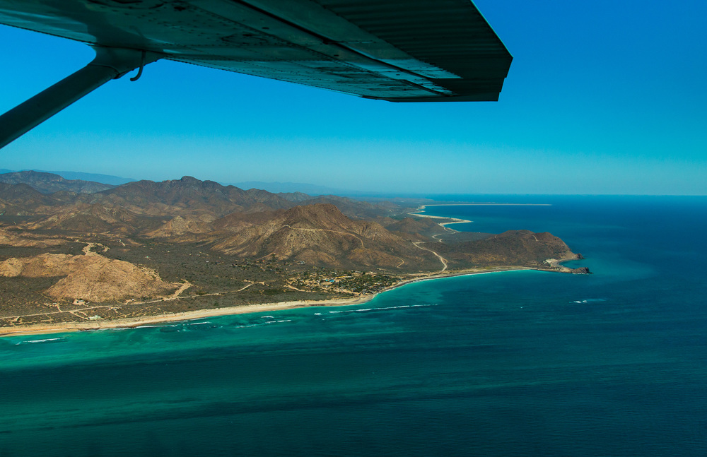 Aireal Shot of Cabo Pulmo by Ralph Lee Hopkin