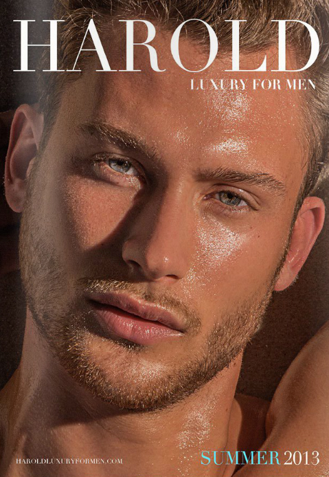 Harold Luxury For Men / Summer 2013 / Cover
