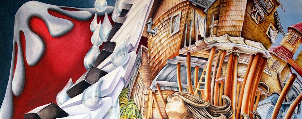 Nuestro Sur | Pintura | Kena Yaksic
