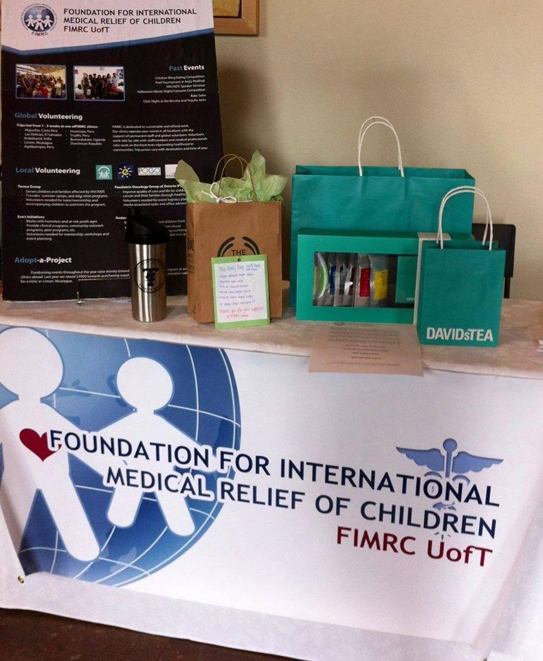 UofT FIMRC's raffle prizes
