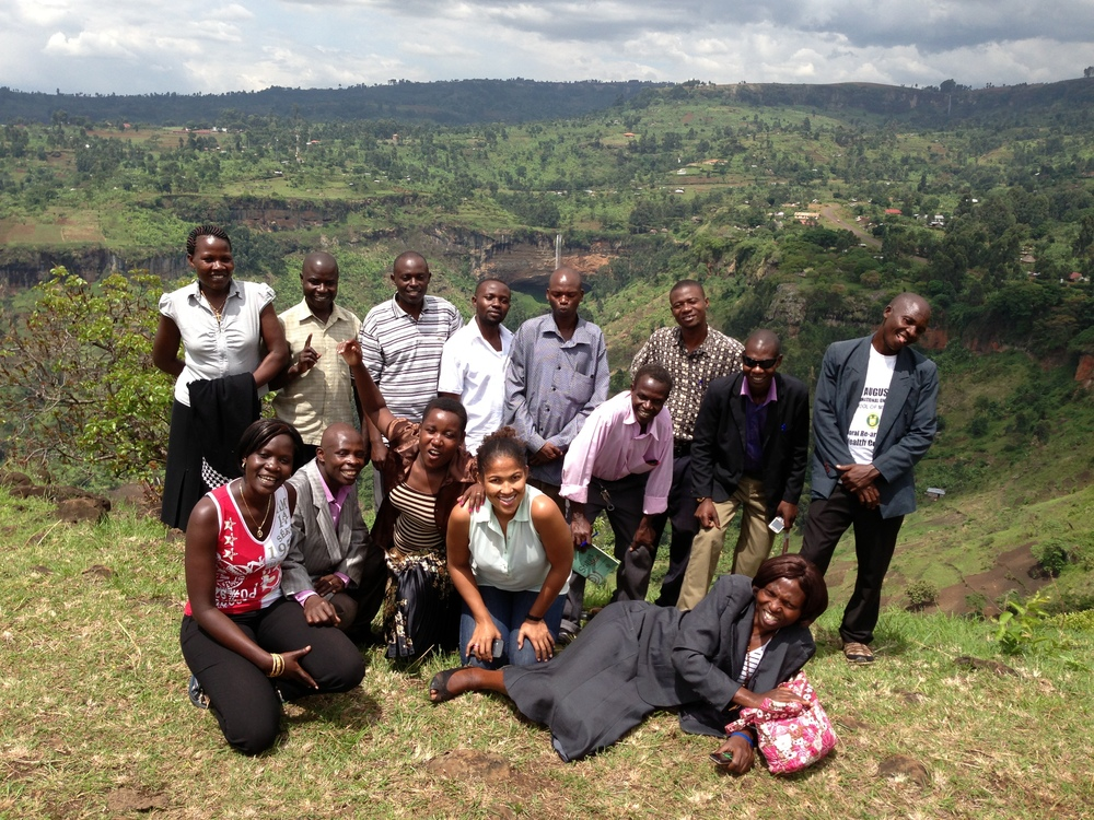 The Project Bumwalukani Team during their staff retreat earlier this summer