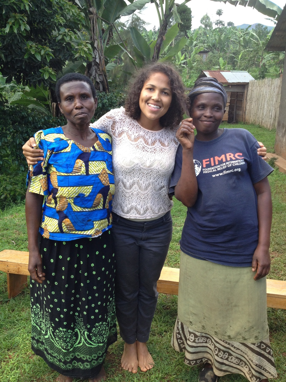 Amber with two of our superstar Community Health Educators (CHEs)!
