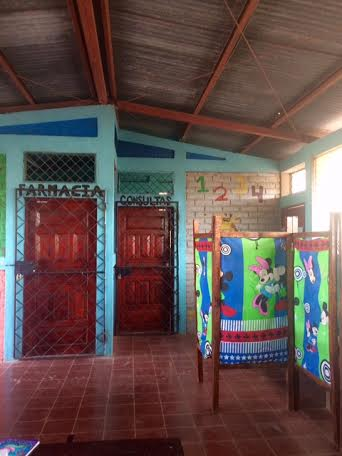 The clinic at Project Limón!