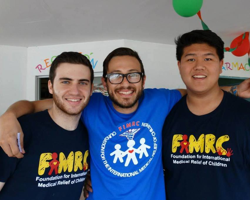 Dayan with FIMRC volunteers.jpg