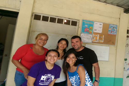 The FIMRC team at Project Las Delicias!