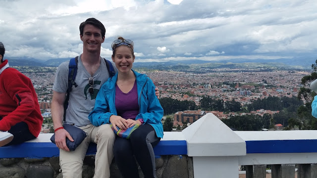 Chris and Lauren in Cuenca, Ecuador