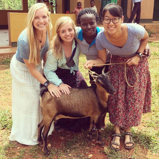 Patsy the goat!