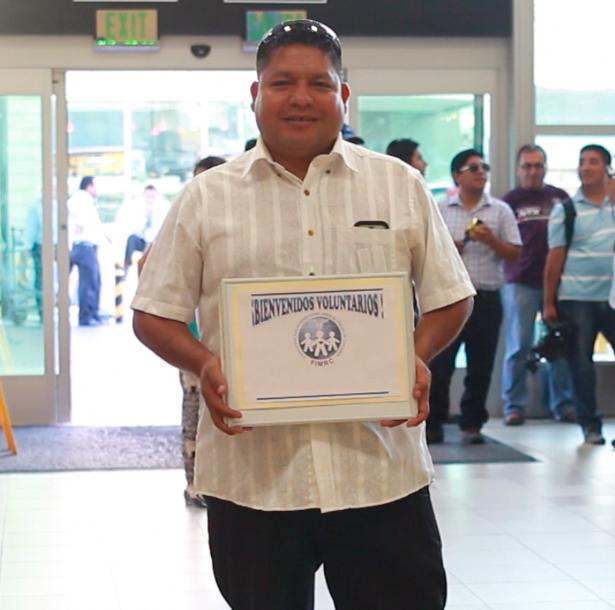 Luis Martin Azaña Carranza, Transportation Coordinator