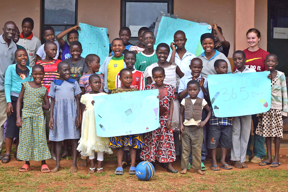 Our Orphans and Vulnerable Children finished another year of health and living fully... and they're growing up so fast!