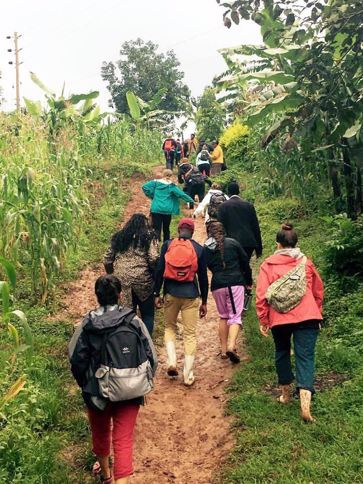 Outreach in Bududa, Uganda