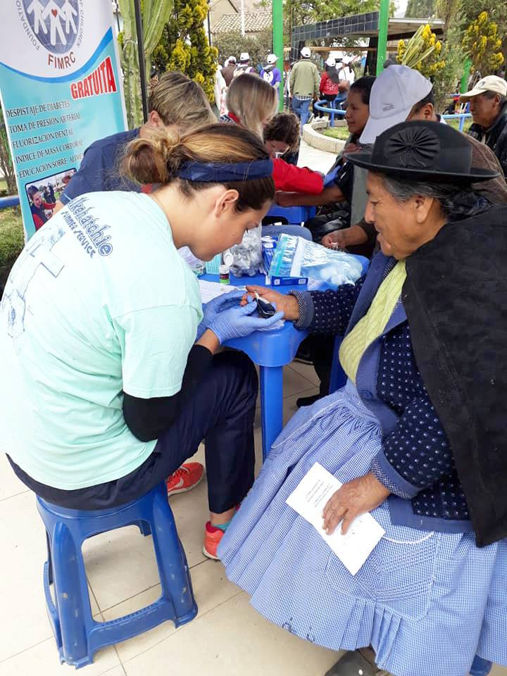 Fellows led successful mobile health campaigns in many districts surroundings Huancayo, Peru.