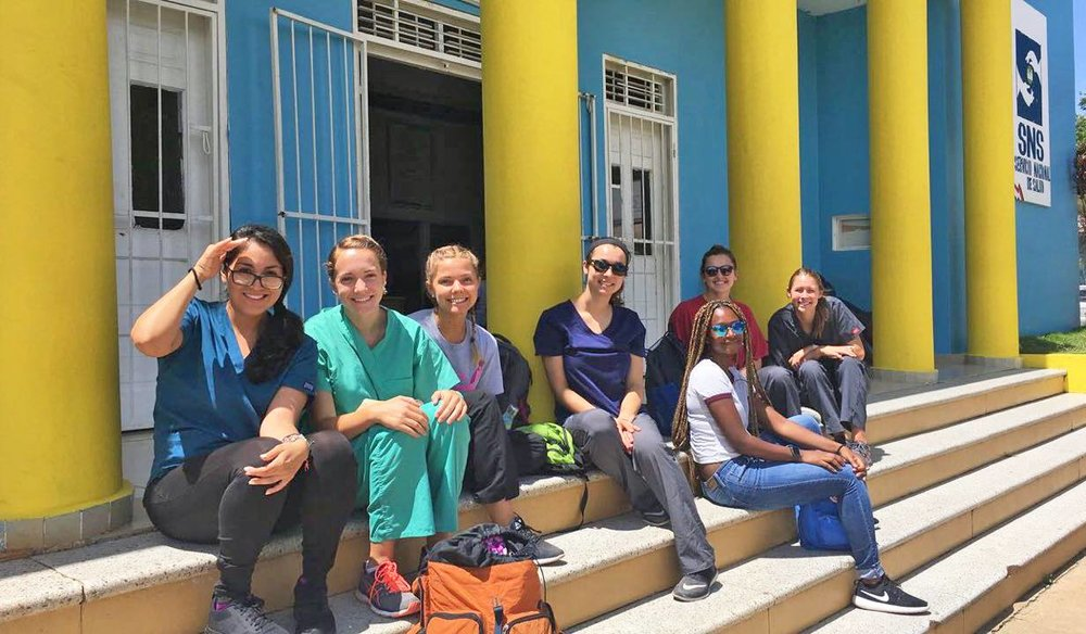 Session II Fellows at Project Restauración in the Dominican Republic.