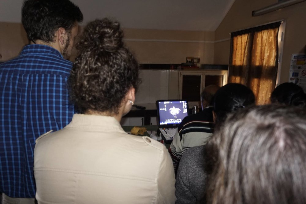 Project Kodaikanal Fellows observed a cardiologist perform echocardiography tests on children identified to have heart murmurs.
