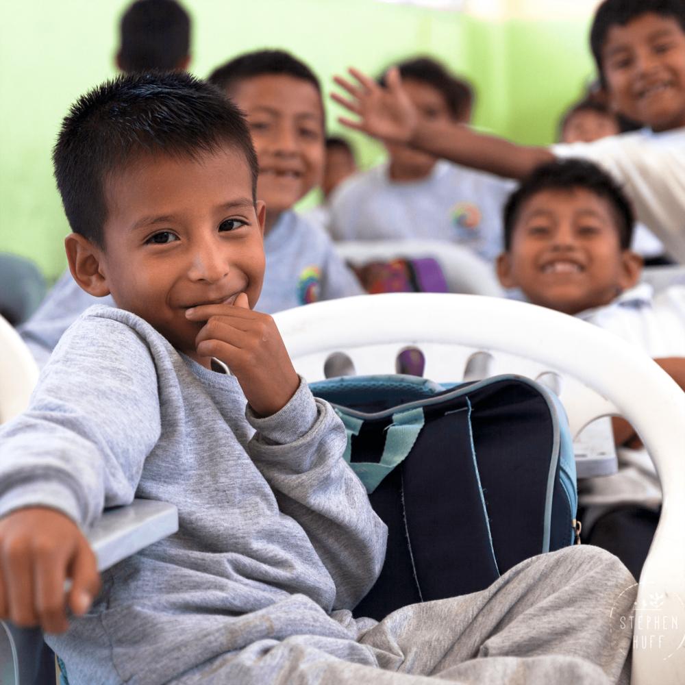 Health Education Class in Ecuador