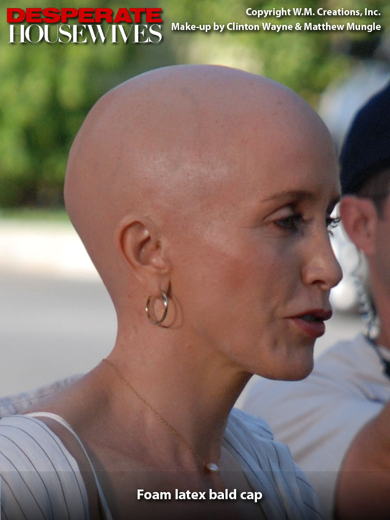 bald cap make