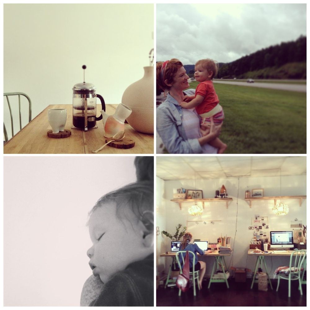 all images with iPhone. Follow @hartandhoney @gingerandbirch @lilyglass on instagram!