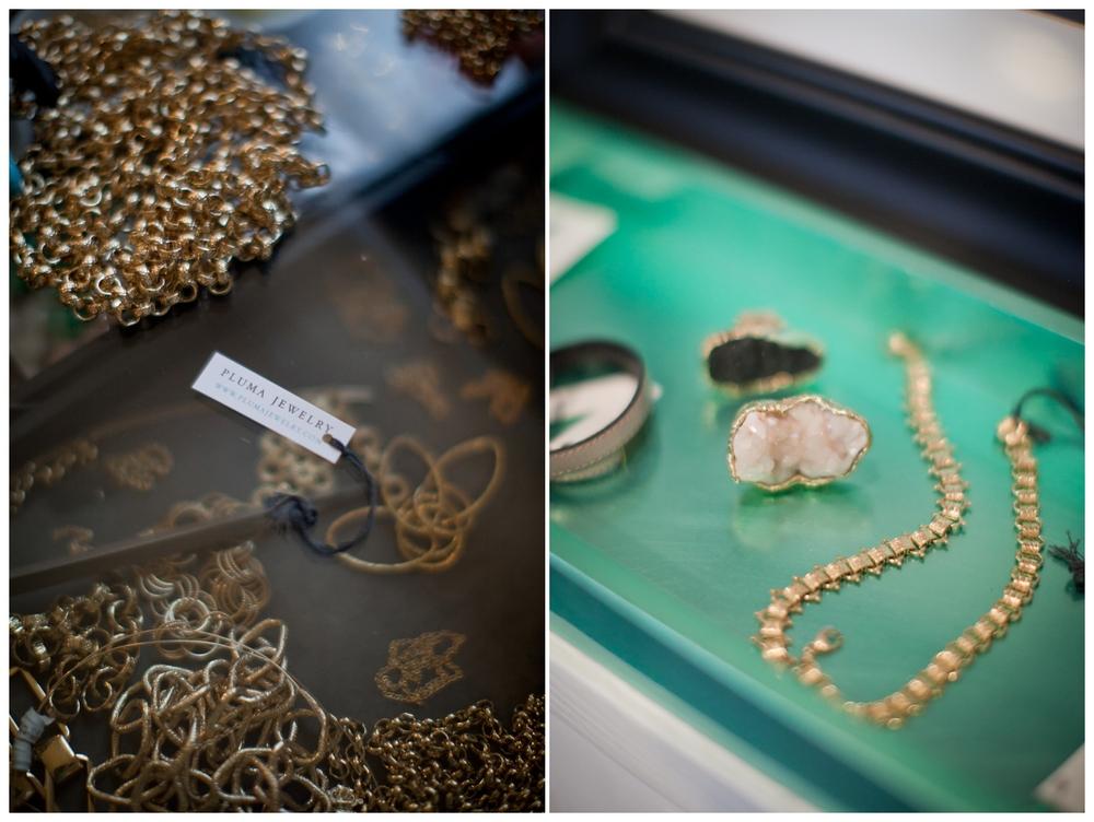 Pluma Jewelry, Columbus Ohio Jewelry Designer, Hart and Honey Collective Creative feature